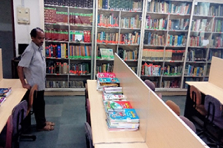 Manav Mandirs Smt Nandkumar Rasiklal P Seth Multipurpose High School-Library