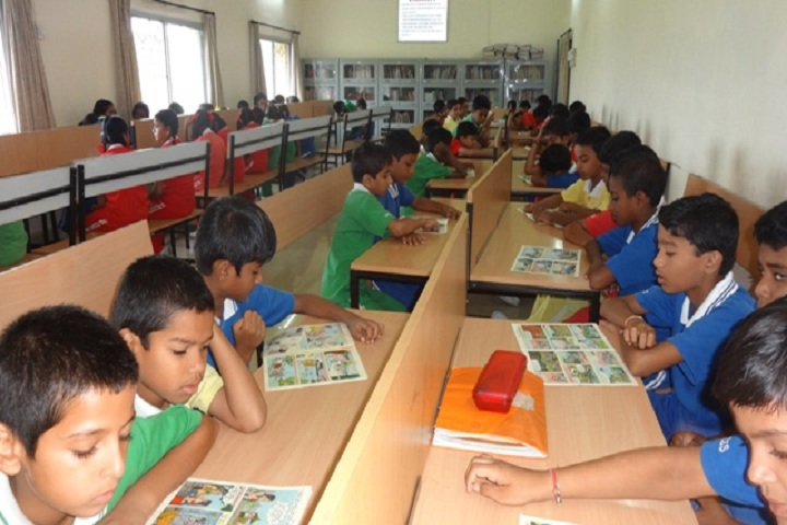 Manikgarh Cement English School-Library
