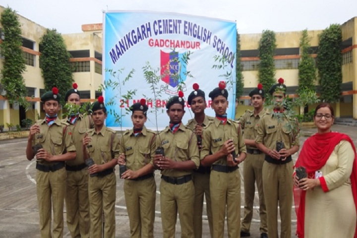 Manikgarh Cement English School-NCC