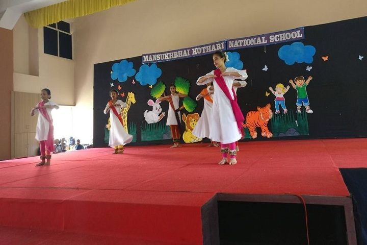 Mansukhbhai Kothari National School-Dance