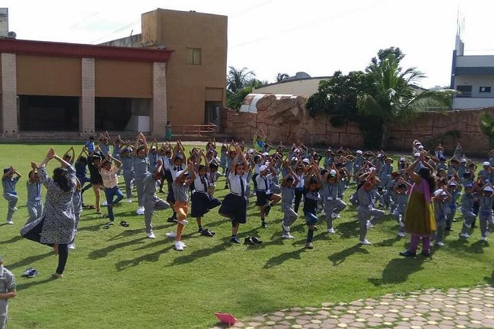 Master Mind Global English School-Yoga Day