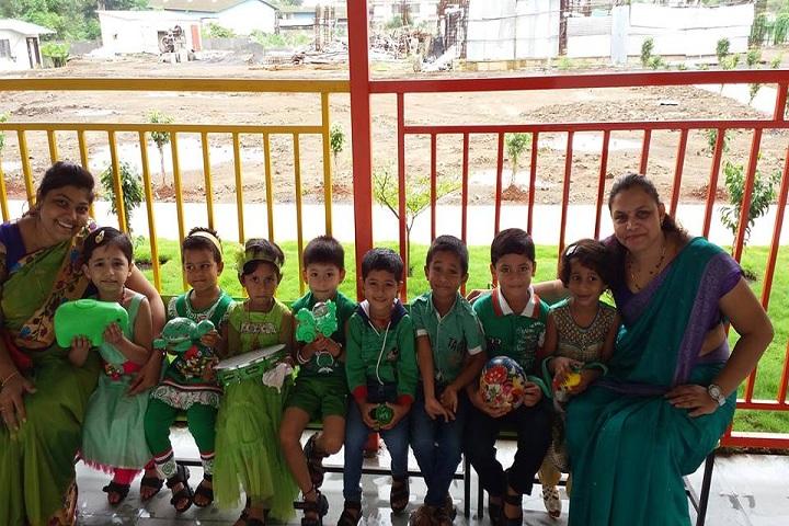Mnr International School-Green Day