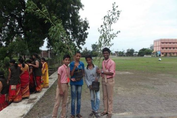 Mount Carmel Convent School-Tree Plantation