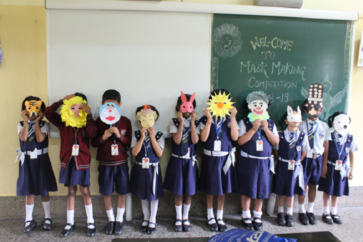 Mount St Ann High School-Mask Making competion
