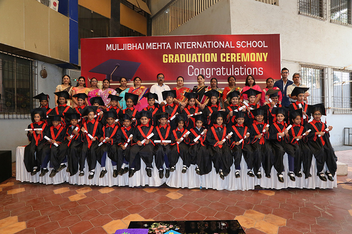 Muljibhai Mehta International School-Graduation Day