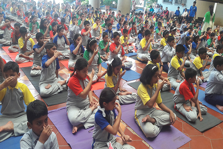Muljibhai Mehta International School-Yoga