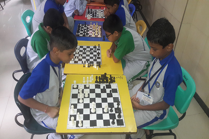 Muljibhai Mehta International School-Indoor Games