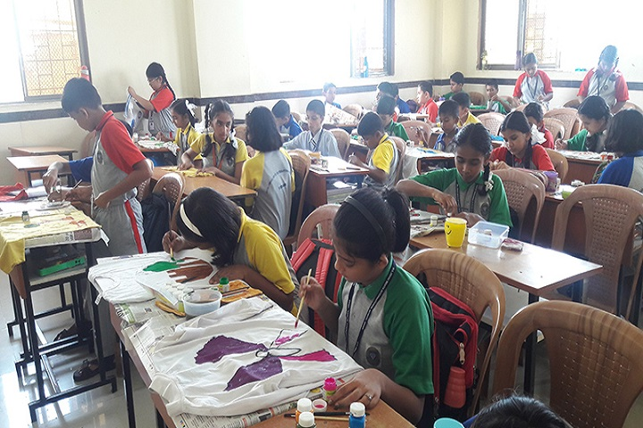 Muljibhai Mehta International School-Painting Activity