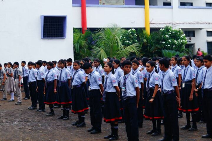Nagarjuna Public School-Assembly