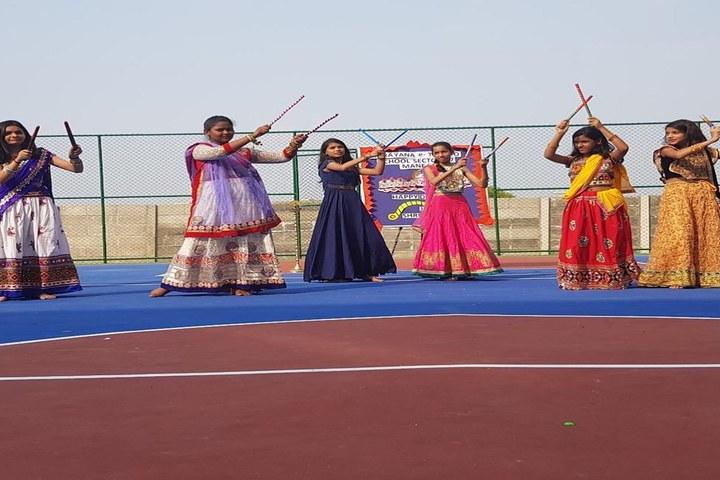 Narayana E Techno School-Dandiya
