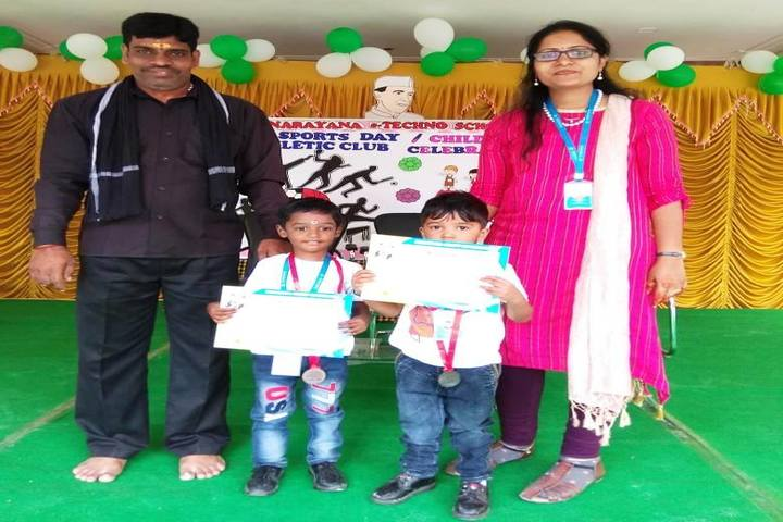 Narayana E Techno School-Prize Distribution