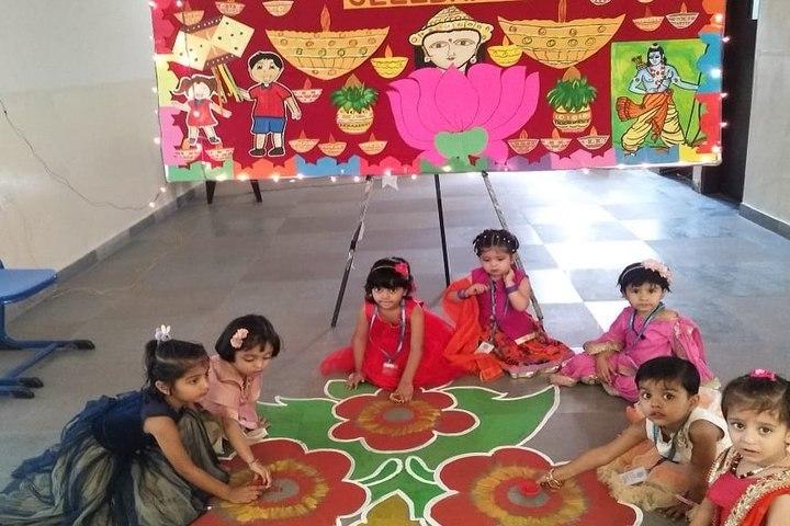 Narayana E Techno School-Rangoli