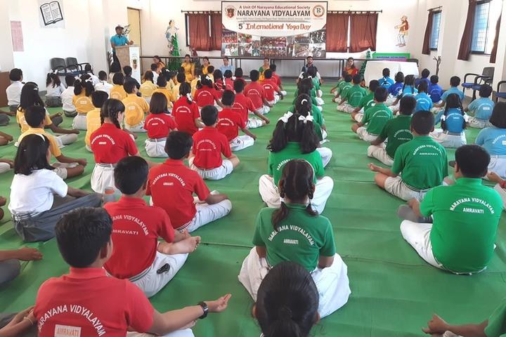 Narayana Vidyalayam-Yoga