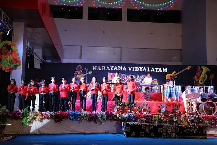 Narayana Vidyalayam-Singing