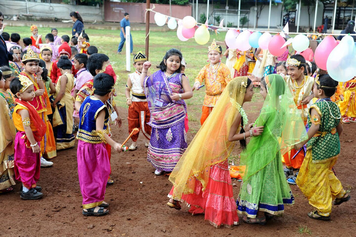 Nashik Cambridge School-Festival Celebration