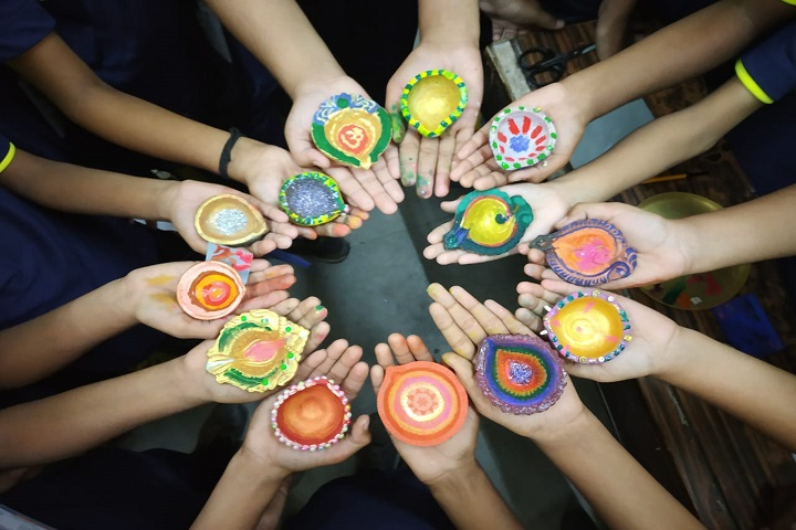 Nav Krishna Valley School-Diwali celebration