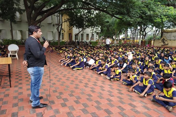 Nav Krishna Valley School-Hindi day celebrations