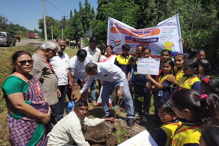 Nav Krishna Valley School-Plantations