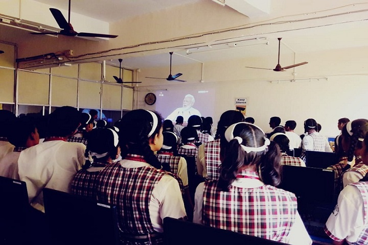 Navnirman High English Medium School-Smartclassroom