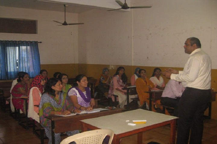 Navnirman High English Medium School-Staff meeting