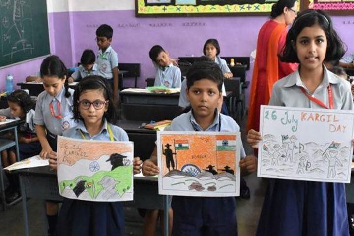 Navy Children School-Drawing