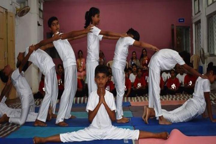 Navy Children School-Yoga