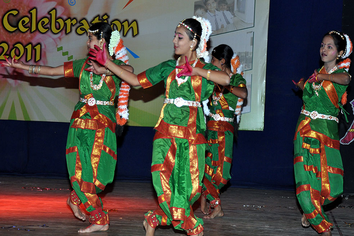 New Beginning International School-Classical Dance