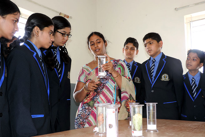 New Beginning International School-Science Lab