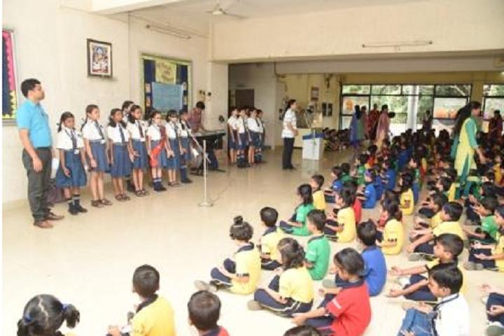New Horizon Public School Khanda Colony-Assembly