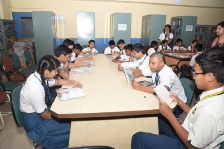 New Horizon Public School Khanda Colony-Library