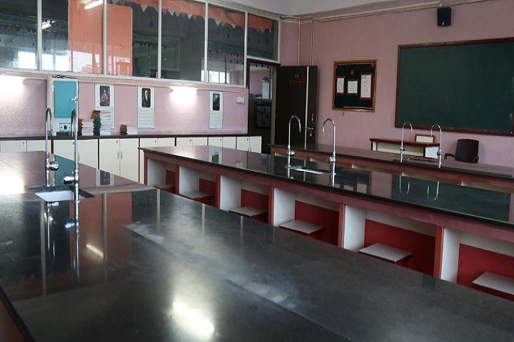 New Horizon Scholars School -Biology Lab