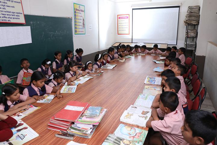New Horizon School-Library