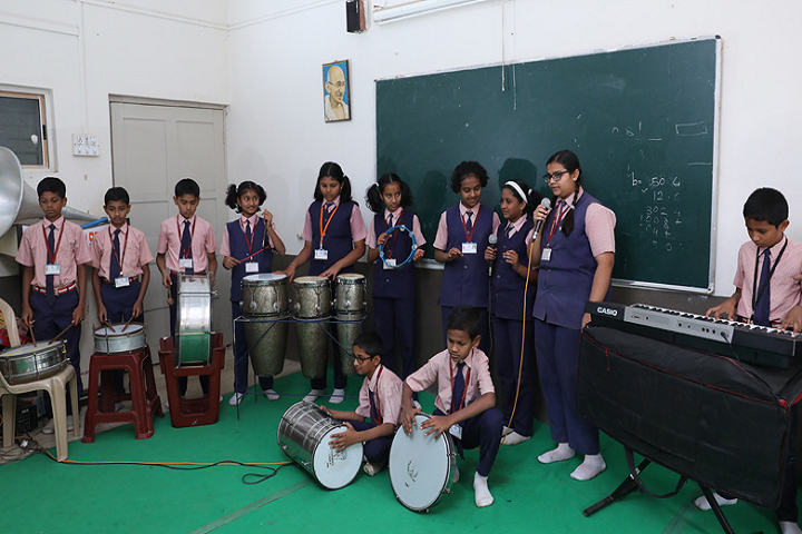 New Horizon School-Music Room