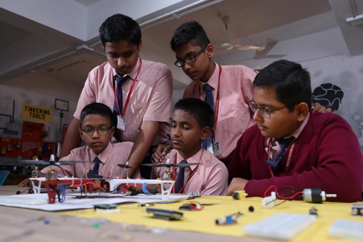 New Horizon School-Robotics Lab
