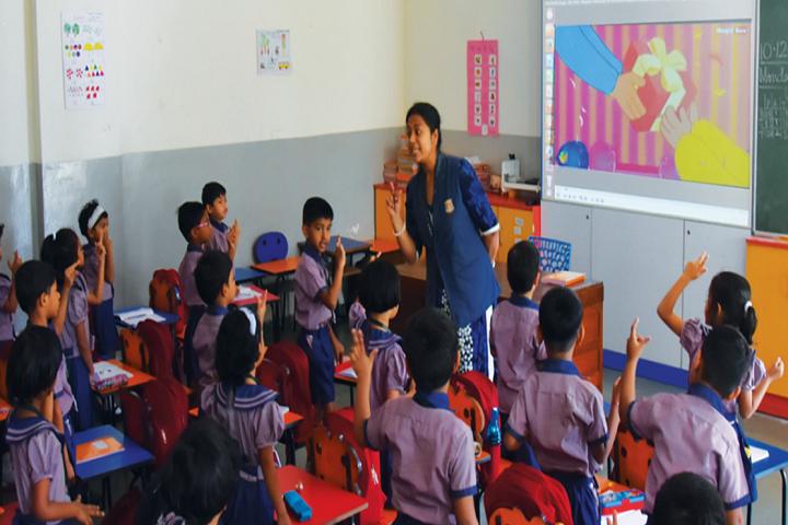 New Pune Public School-Classroom