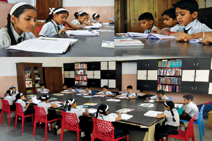 New Pune Public School-Library