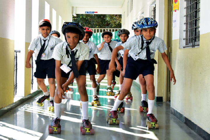 New Pune Public School-Skating