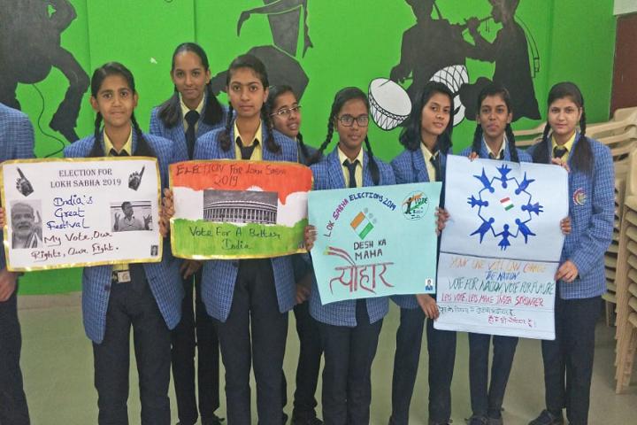 New Times International School-Poster Presentation