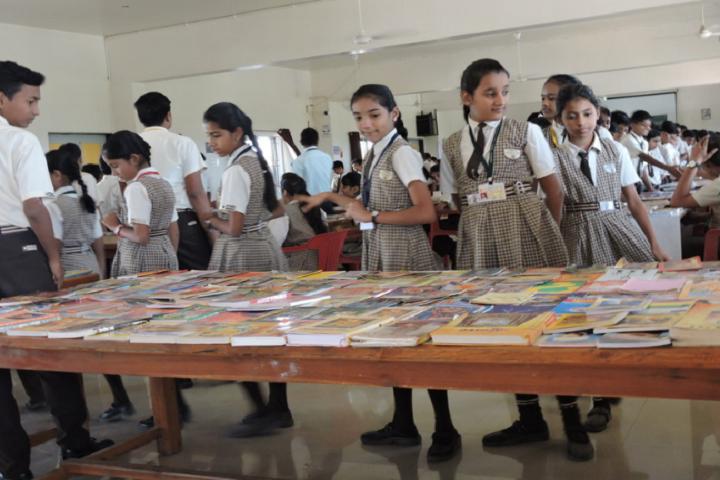 Nirmal International School-Books Exhibition