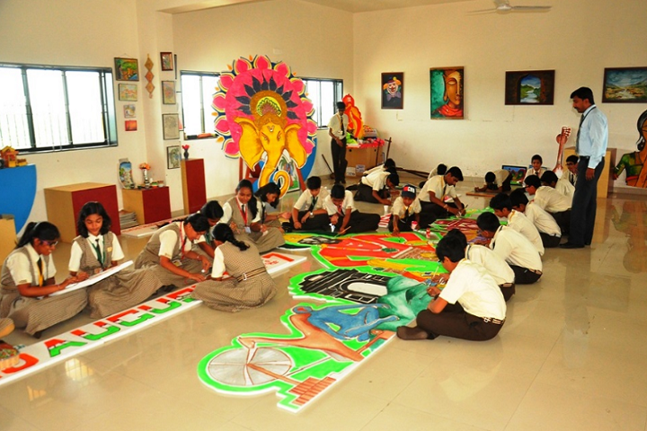 Nirmal International School-Drawing And Art Library