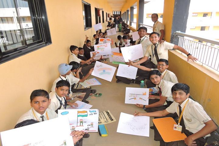 Nirmal International School-Drawing Competition
