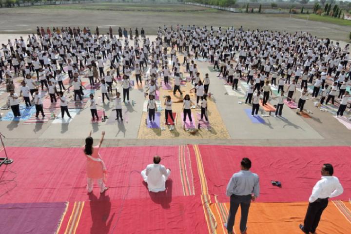 Nirmal International School-International Yoga Day