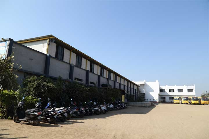 Orchid Techno School-Parking-Place