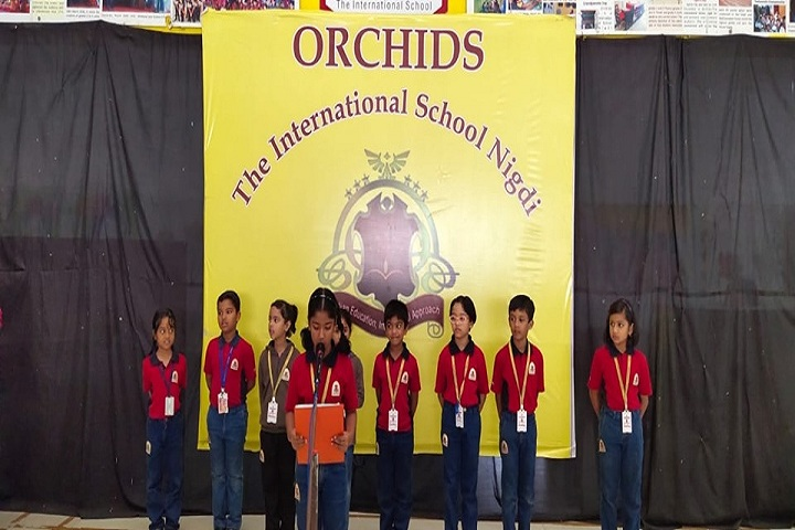 Orchids The International School-Singing