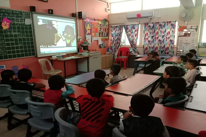 Orhcids The Internatinal School-Kids-Class