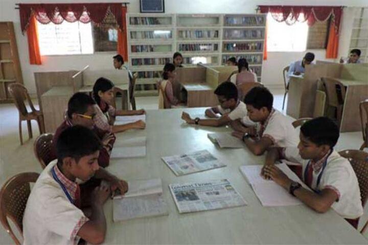 P R Pote Patil International School-Library
