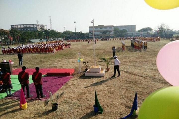 P R Pote Patil International School-Sports Meet