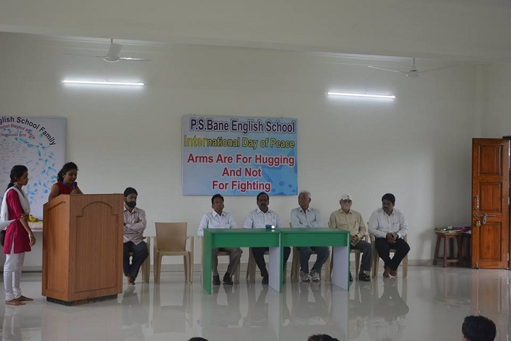 P S Bane International School-Speaker
