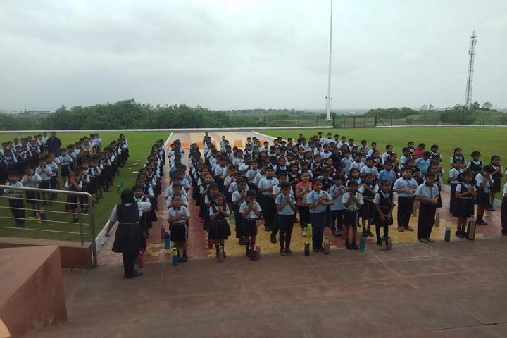Padmashree Dr Vithalrao Vikhe Patil Foundations English Medium School-Assembly