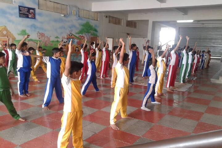 Panchvati English Medium School-Yoga